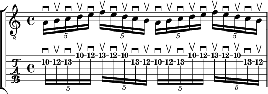 16th note quintuplets
