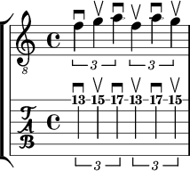 4th note triplets