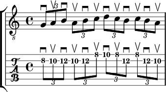 8th note triplets