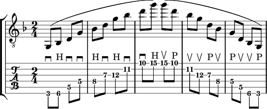 g minor longform sweep